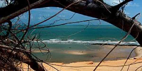 Canoa Quebrada-CE-Vista da praia-Foto:ARAGÃO