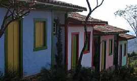 Lavras Novas - Lavras Novas-MG-Casario no centro-Foto:dentrodomochilao.com