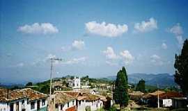 Lavras Novas - Lavras Novas-MG-Vista parcial da cidade-Foto:dentrodomochilao.com
