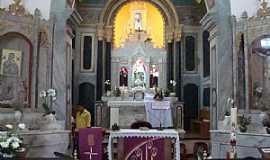 Arraial D Ajuda - Arraial D´Ajuda-BA-Altar da Igreja de N.Sra.D´Ajuda-Foto:ganzilotomich,
