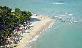 Arraial D Ajuda - Arraial D´Ajuda-BA-Vista aérea da praia-Foto:marcos.freire