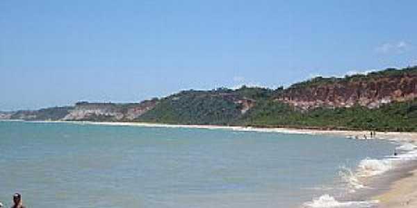 Arraial D´Ajuda-BA-Vista da praia-Foto:Monica B.F. da Silva