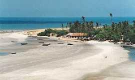 Jericoacoara - Jericoacoara-CE-Vista da praia-Foto:victorino-francis