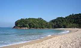Camburi - Canto direito da Praia de Camburí-SP-Foto:Bruno.Rocha