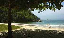 Camburi - Sombra na Praia de Camburí-SP-Foto:Rtcarvalho