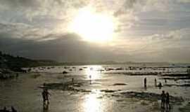 Praia de Pipa - Pôr do Sol na Praia de Pipa-RN-Foto:Aderbal Nunes