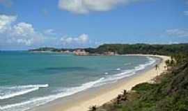 Praia de Pipa - Visão geral da Praia de Pipa-RN-Foto:Marcus Sampaio