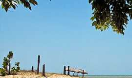 São Miguel do Gostoso - São Miguel do Gostoso-RN-Barraca na praia-Foto:thyrone