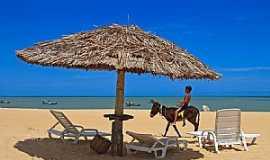 São Miguel do Gostoso - São Miguel do Gostoso-RN-Bela imagem na praia-Foto:thyrone