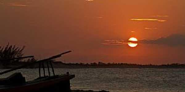 São Miguel do Gostoso-RN-Pôr do Sol na Praia do Marco-Foto:thyrone