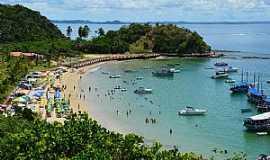 Ilha dos Frades - Visão do Mirante da Ponta