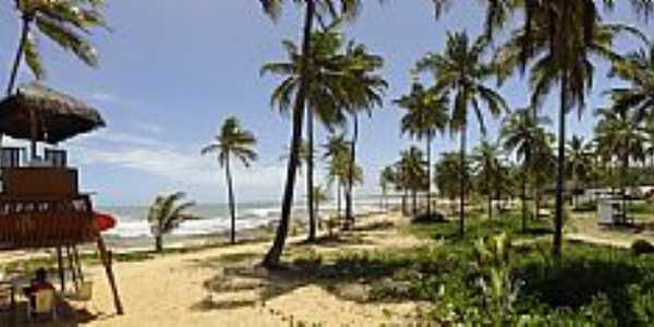 Costa do Sauípe-BA-Vista da praia-Foto:Thiago Silva Soares