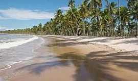 Boipeba - Boipeba-BA-Coqueiral na praia-Foto:viajeaqui.abril.com.br