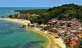Boipeba - Boipeba-BA-Vista aérea-Foto:pontosturisticosbrasil.org