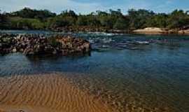 Jalapão - Praia do Rio Novo em Jalapão-TO-Foto:AFroehlich