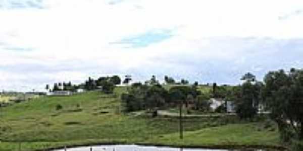 São Miguel das Matas-BA-Lago e vista da região-Foto:MARCELO S F