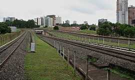 �guas Claras - �guas Claras-DF-Trilhos do Metr�-Foto:Ateles