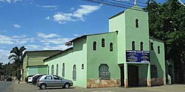 Águas Claras-DF-Paróquia Bom Jesus dos Aflitos-Foto:Pedro Lins de Almeida