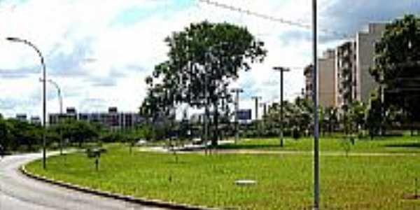 Avenida de Sudoeste Octogonal-DF-Foto:TURISMOPELOBRASIL.NET