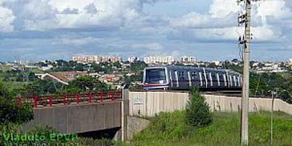 Park Way-DF-Trem do Metrô-Foto:doc.brazilia.jor.br