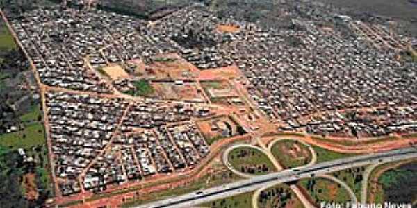 Scia-DF-Vista aérea da Cidade Estrutural-Foto:rejanepacheco.