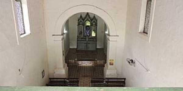 Frecheiras da Lama-PI-Nave da Igreja de N.Sra.do Rosário-Foto:Ailton Ponte