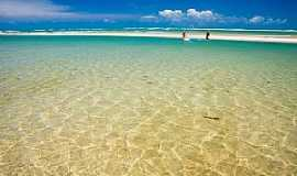 Águas Belas (Praia) - Águas Belas(Praia)-CE-Águas cristalinas na praia-Foto:gntur.com.br/turismo