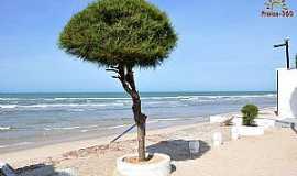 Águas Belas (Praia) - Águas BelasPraia-CE-Orla da praia-Foto:www.praias-360.com.br