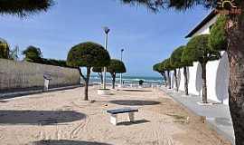 Águas Belas (Praia) - Águas Belas(Praia)-CE-Rua para a praia-Foto:www.praias-360.com.br