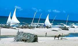 Águas Belas (Praia) - Águas Belas(Praia)-CE-Variedade turística-Foto:www.paulovans.com.br