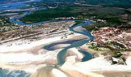 Águas Belas (Praia) - Águas Belas(Praia)-CE-Vista aérea-Foto:gntur.com.br/turismo