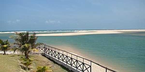 Águas Belas(Praia)-CE-Orla da praia-Foto:www.ceararotas.com.br