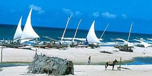 Águas Belas(Praia)-CE-Variedade turística-Foto:www.paulovans.com.br