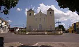 São Sebastião do Passe - Igreja Matriz em São Sebastião do Passe-Foto:RobSabino