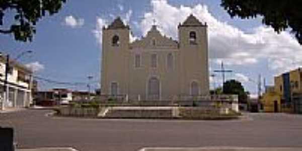Igreja Matriz em São Sebastião do Passe-Foto:RobSabino