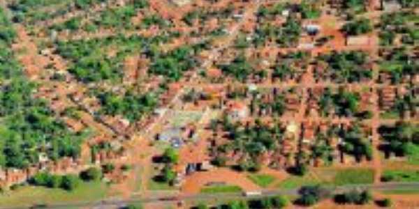 Palmeiras do Tocantins-TO-Vista aérea-Foto:Raimundo