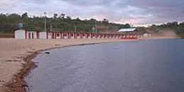 Praia artificial em Palmeiras do Tocantins-Foto:alcoa.