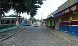 Barro Preto - Mercado Municipal e Praça Getúlio Vargas em Barro Preto-BA-Foto:Daniel duarte