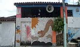 Barro Preto - Pequeno Museu com objetos de época e exposição de animais em Barro Preto-BA-Foto:Daniel Duarte