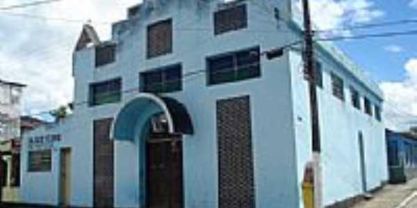 Antiga Paróquia da cidade de Barro Preto-BA-Foto:Daniel Duarte