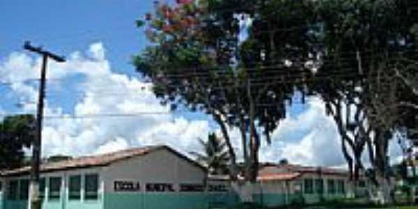 Escola Estadual Domingos Chaves em Barro Preto-BA-Foto:Daniel Duarte