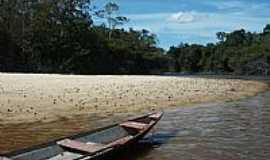 Reserva Xixuaú-Xiparinã - Praia do Rio Xixuaú em Reserva Xixuaú-Xiparinã-AM-Foto:Mette Irene Andersen