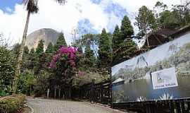 Pedra Azul - Pedra Azul-ES-Estrada de acesso ao Centro de Atendimento ao Turista-Foto:Paulo Yuji Takarada