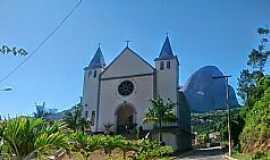 Pedra Azul - Pedra Azul-ES-Igreja de N.Sra.de Fátima-Foto:Wellington Alvim da Cunha