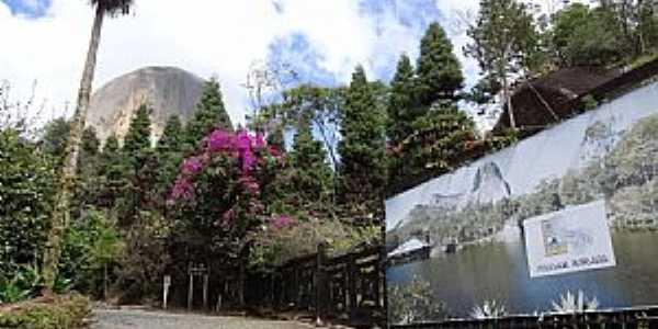 Pedra Azul-ES-Estrada de acesso ao Centro de Atendimento ao Turista-Foto:Paulo Yuji Takarada