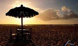 Guaibim - Guaibim-BA-Entardecer na Praia-Foto:Francisco Carlos 2009