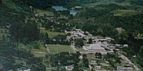 Vista aérea de Vila Oliva-RS-Foto:mraimann