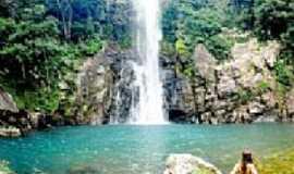 Vila de Bom Jardim - Cachoeira Serra Azul em Vila de Bom Jardim-MT