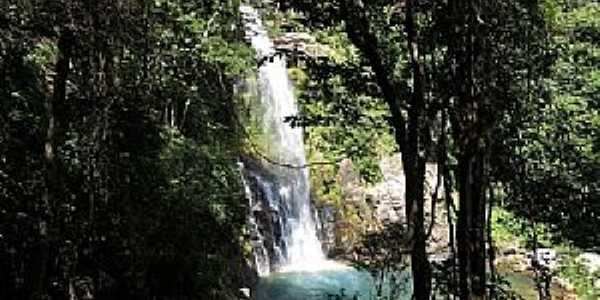Vila de Bom Jardim-MT-Linda cachoeira-Foto:Gabriela Von Eye