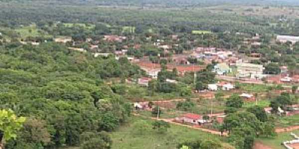Vila de Bom Jardim-MT-Vista aérea da Vila-Foto:Gabriela Von Eye
